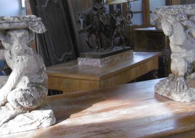 Tabouret en  pierre